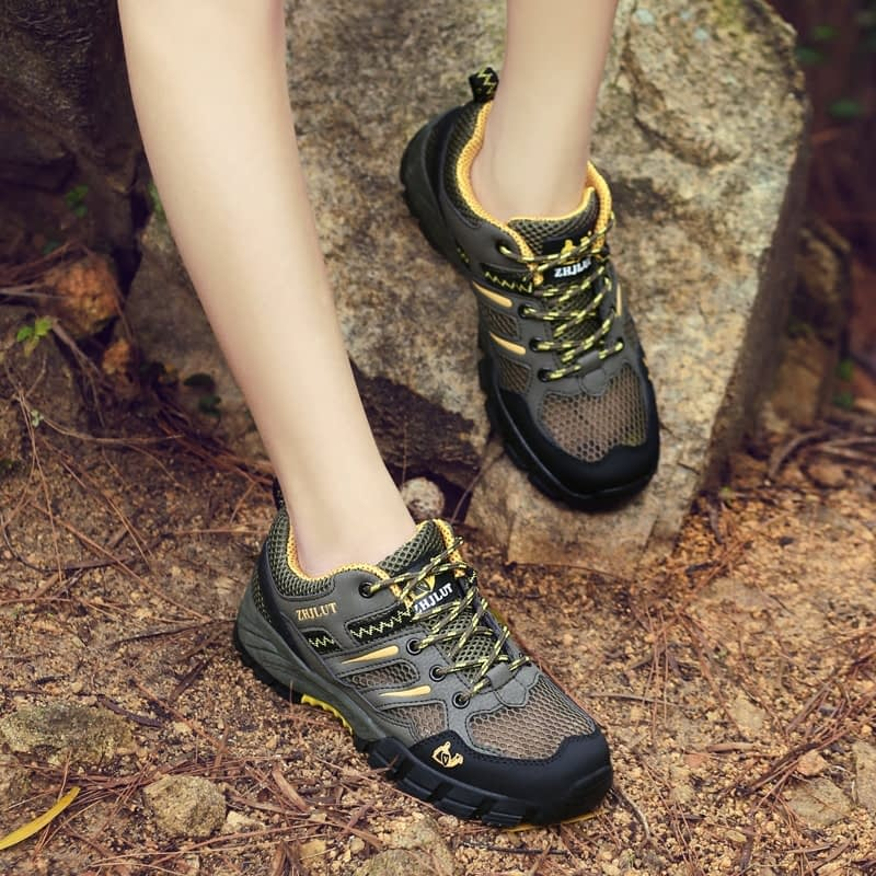Women's Outdoor Shoes, Climbing, Hiking, Leather Sneakers, Trekking, Walking  Shoes – Sneakers Fit Style
